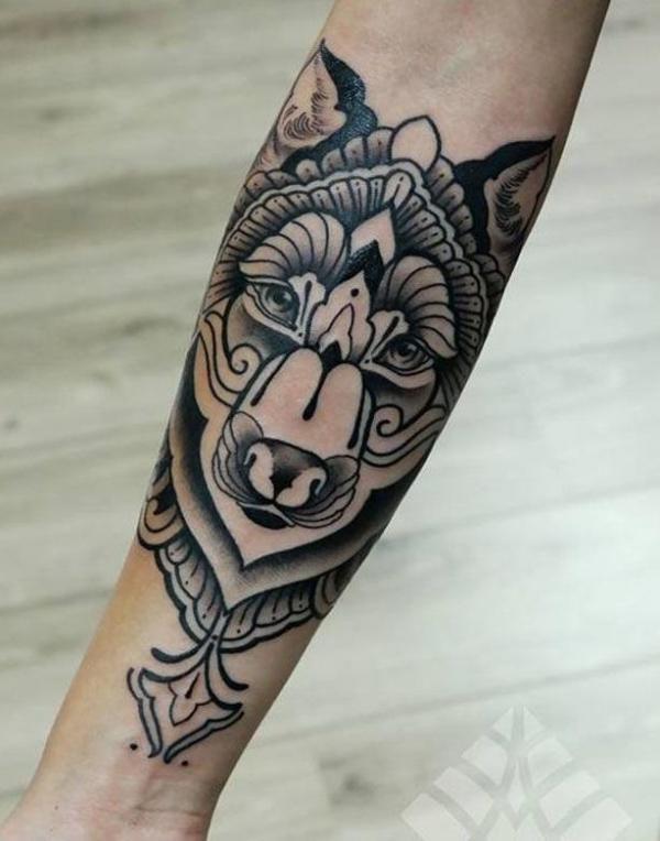 Souvent Quelle est la signification des tatouages de loups | Tattoo  QQ61