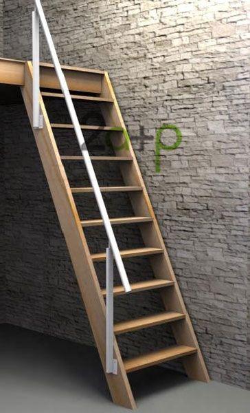Escaleras para ahorrar espacio escaleras en cabañas rusticas - escaleras de madera rusticas