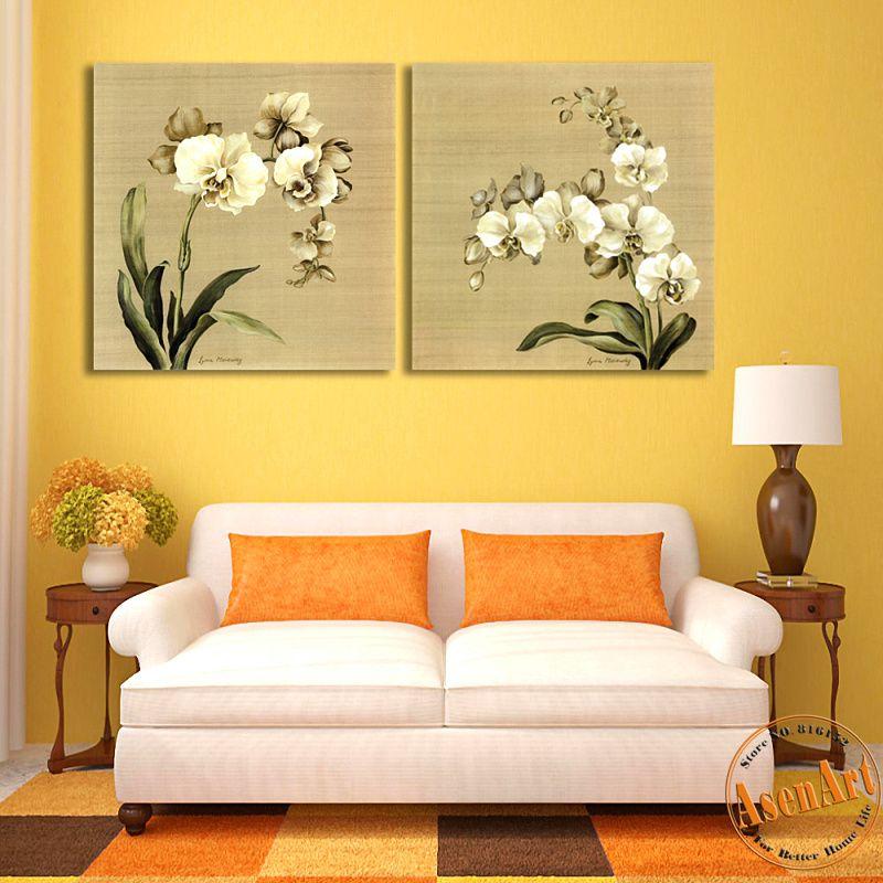 2-Panel-Butterfly-Orchid-font-b-White-b-font-font-b-Flower-b-font ...