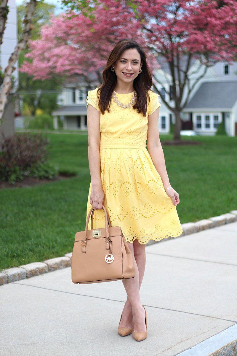 Outfit ideas Vestido Amarillo/ Yellow Dress