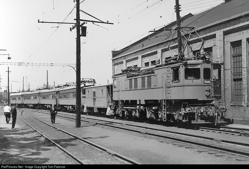 Csssb 704 chicago southshore south bend railroad ge r2