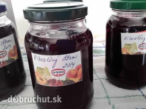 Domáci ríbezľový džem