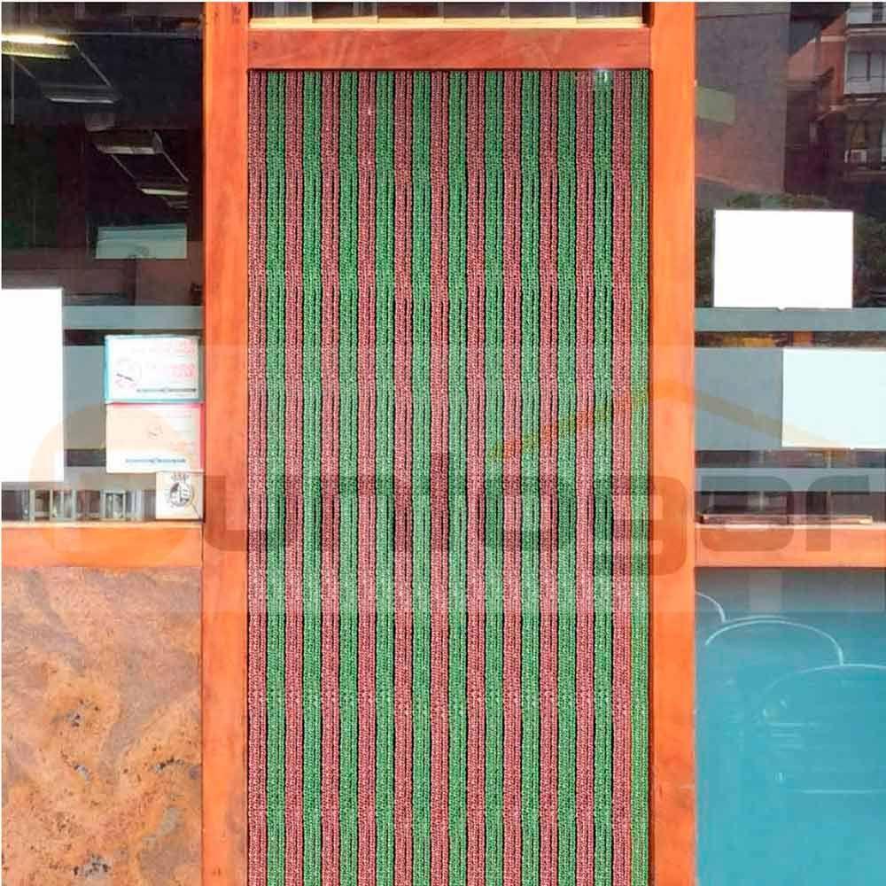 cortina exterior electra para puertas antimoscas pvc con variedad de colores y a medida cortinas