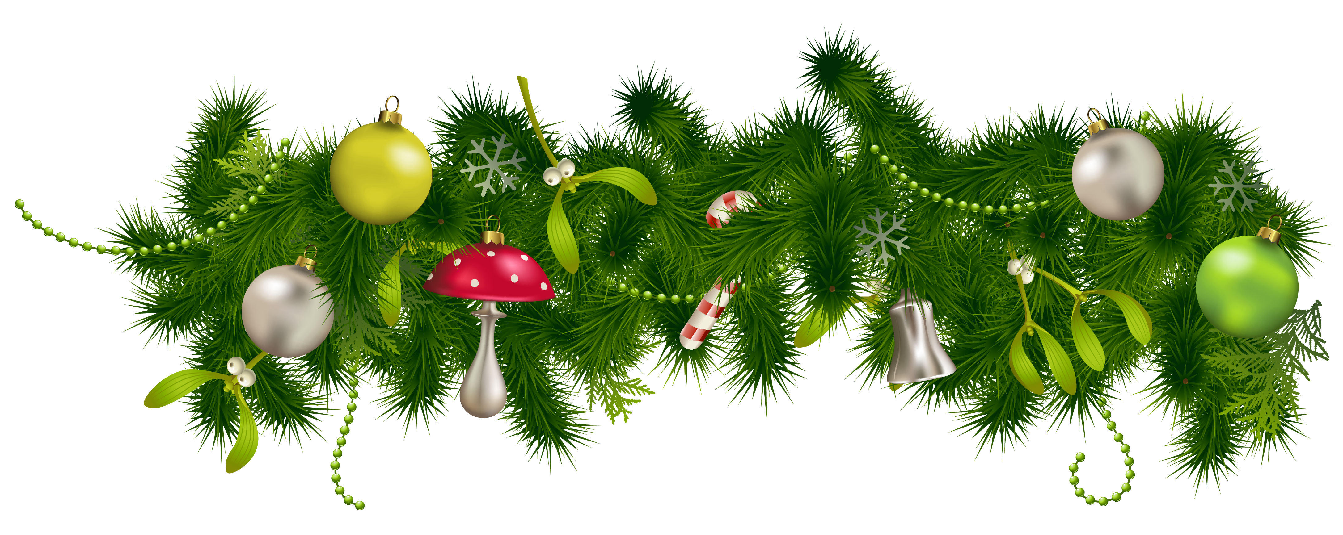 Holiday Garland Clipart Gallery Christmas Clipart Holiday Garlands Christmas Border