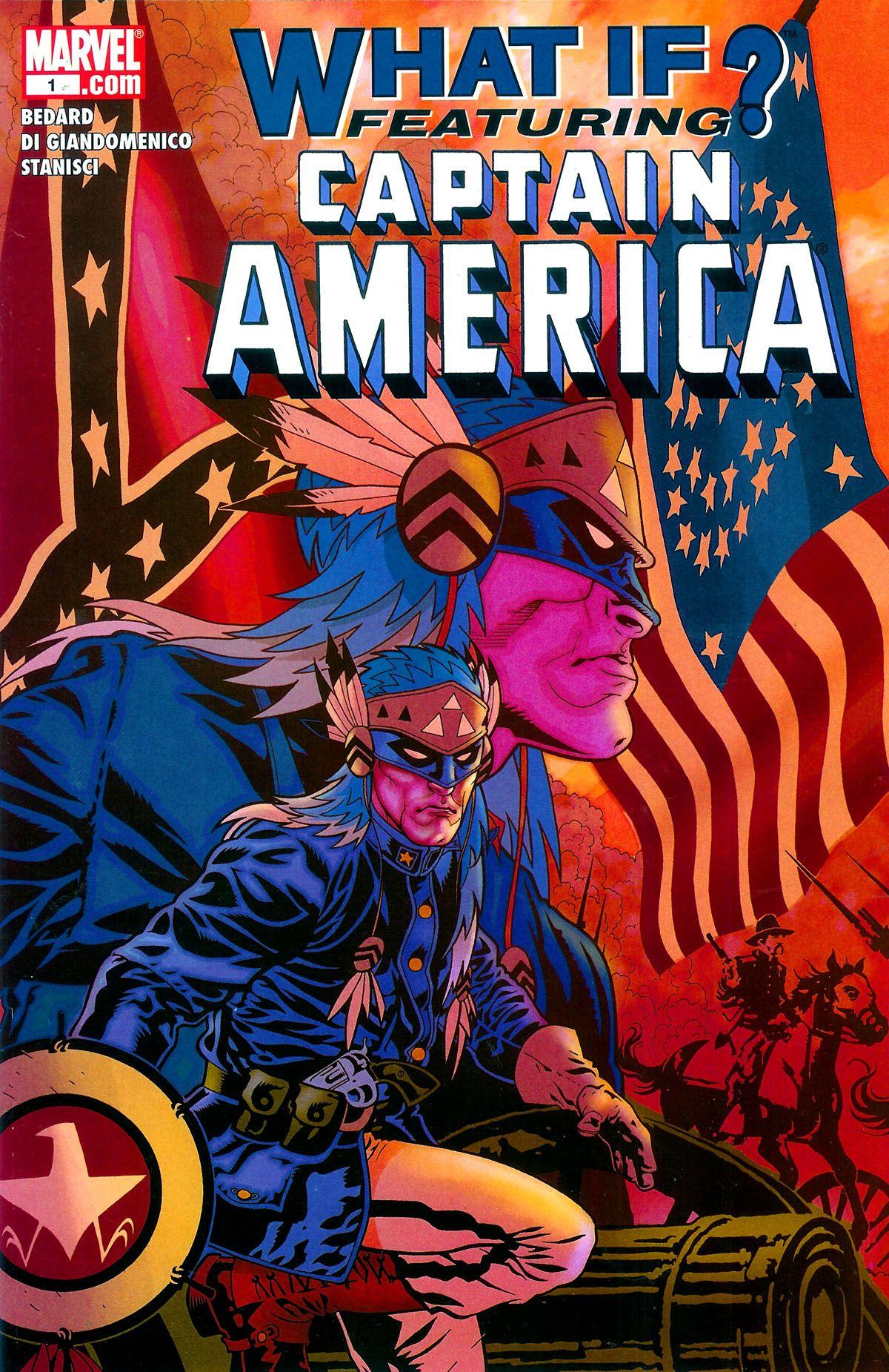 ArtStation - Captain America Cover, Admira Wijaya