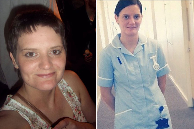 Brave epileptic became a nurse after having part of her