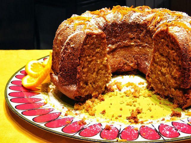 delilicias: Bundt Cake de Cenoura e Laranja