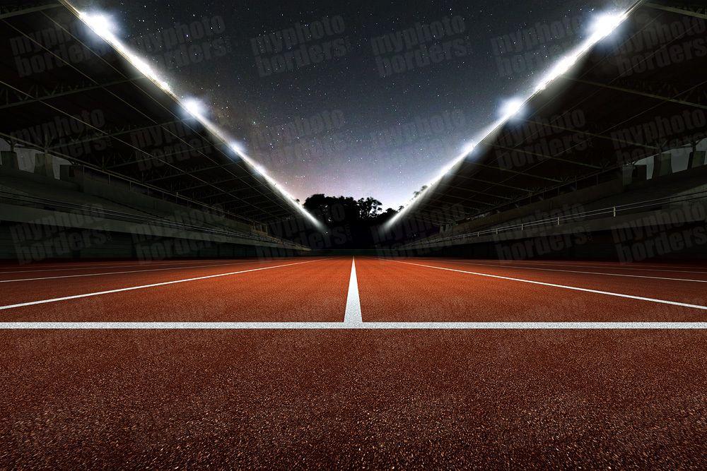 Digital Sports Background Track Grandstand Ii Digital Background Digital Background