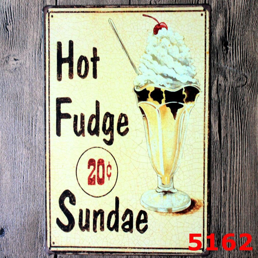 Cupcakes Hot Fuge 20c Sundae Burger Ice Cold Beer Tropical Bar Hot ...