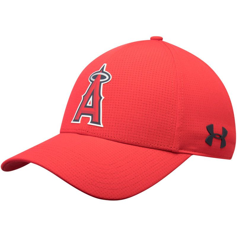 5884f70cda7 ... ireland los angeles angels under armour mlb driver cap 2.0 adjustable  hat red angels mlb 6bdbb