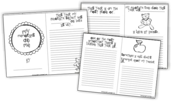 17 Simple End of the School Year Student Gifts and Writing