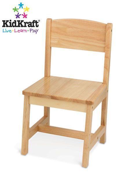 KidKraft Aspen Single Chair   Natural 16118