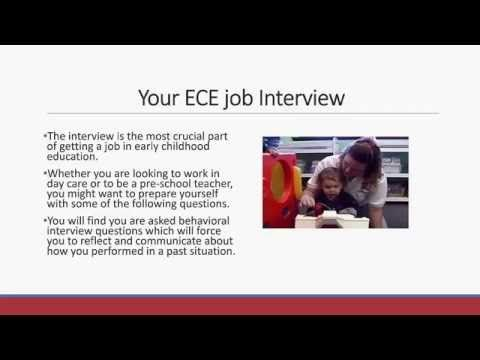 Interviewing Questions Early Childhood Teacher  Youtube  Job