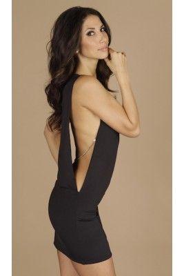 2eabf38efe A Vegas dress for sure!! Reve Boutique - Open Side Dress in Black - Dresses