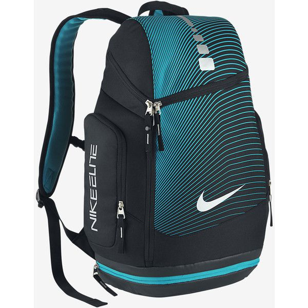 e1de865e87 Nike Hoops Elite Max Air Graphic Backpack. Nike.com ( 85) ❤ liked on  Polyvore featuring bags