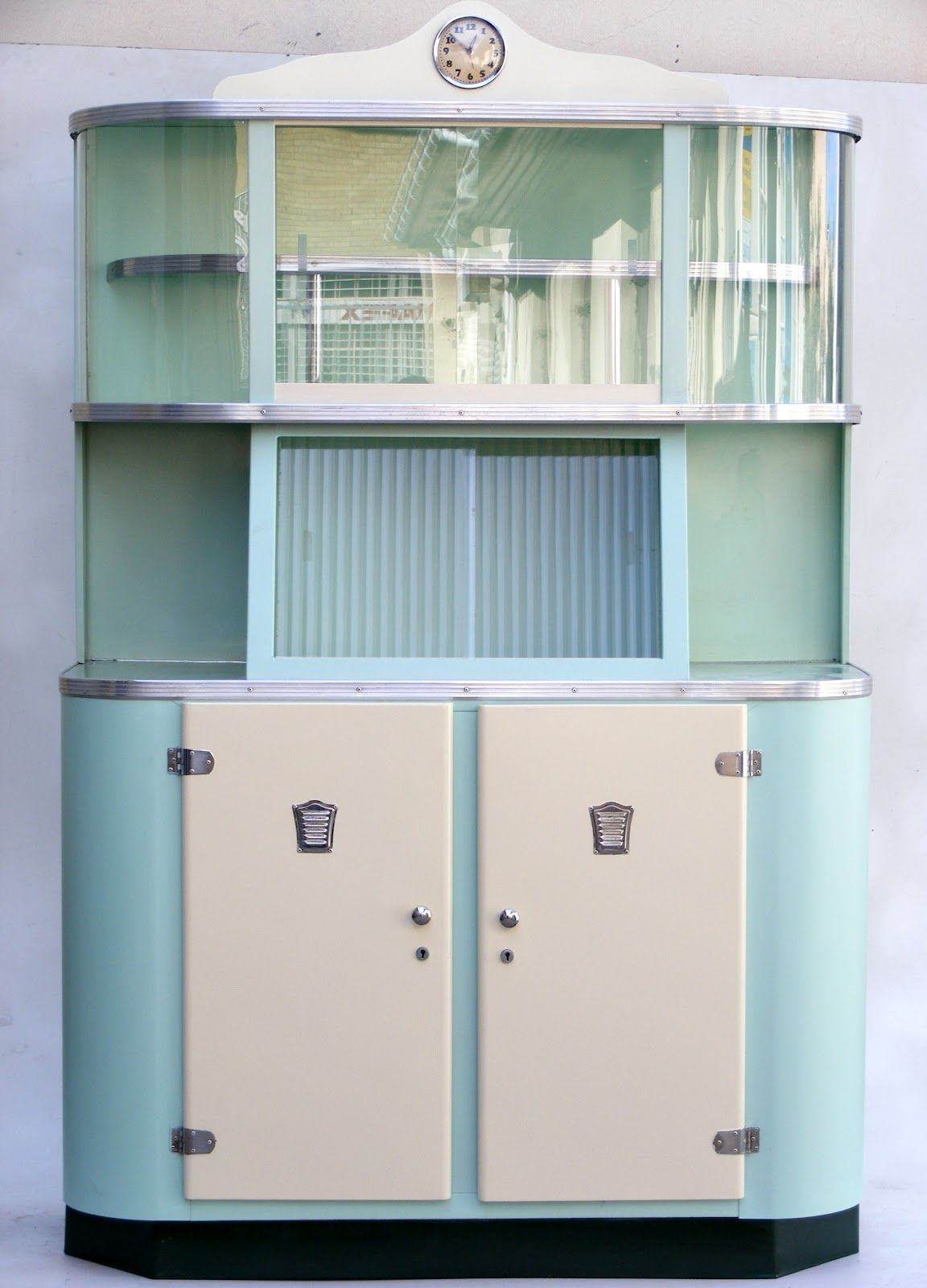 metal kitchen cabinets vintage  Google Search  For the