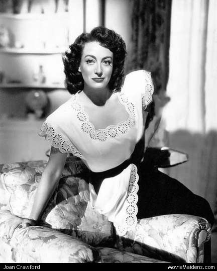 Joan Crawford - 1930s actress ... when she was young - MovieMaidens.com