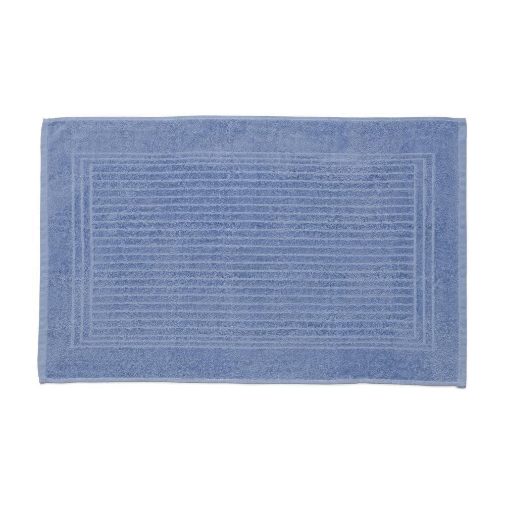 Piso De Banheiro Alto E Baixo Relevo Cedro Santista Azul Toalha De Piso Santista Relevo