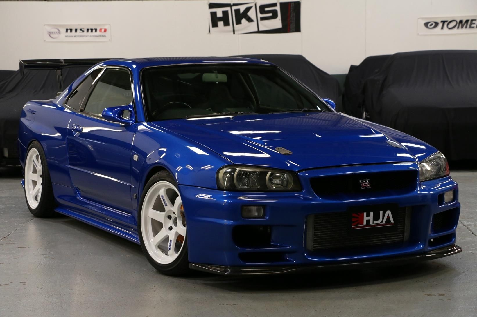 Nissan Gtr R34 For Sale >> Skyline Gtr R34 Blue Used 1999 Nissan Skyline R34 For Sale In