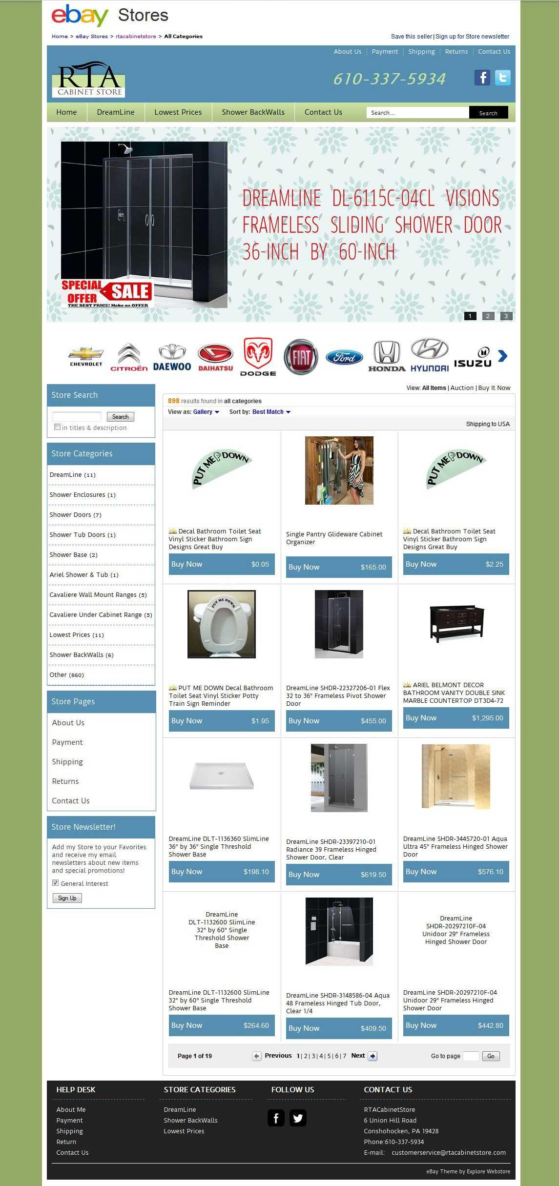 http://stores.ebay.com/rtacabinetstore