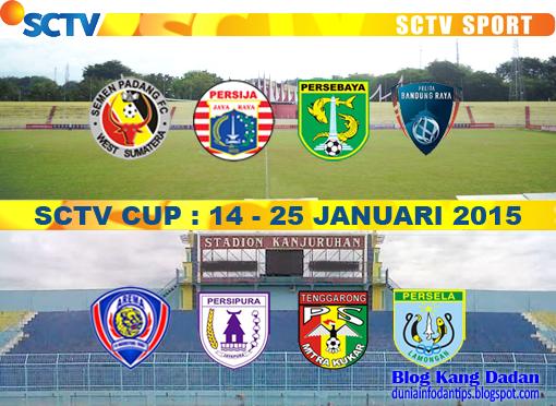 Jadwal Lengkap SCTV Cup 2015
