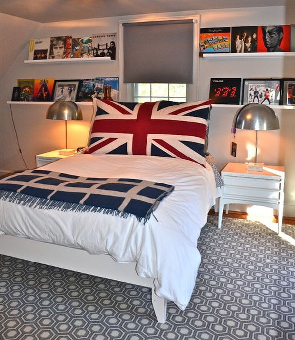 British invasion 24 union jack furniture and decor ideas for British bedroom ideas