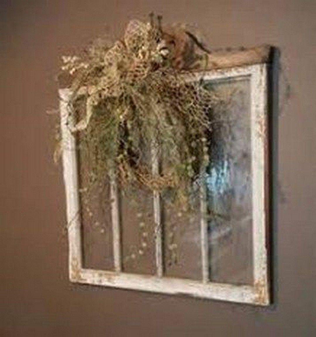 Best Repurposed Old Window Ideas Alte Fenster Dekorieren Alte