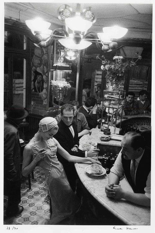 Frank Horvat - Le Chien qui Fume, Paris for Jardin Des Modes 1957