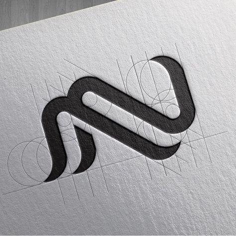 Nm Design Process By G Designthings Logo Design Inspiration Logo Design Logo Inspiration