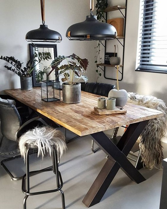 The Best Industrial Dining Room Design Ideas Industrial Dining