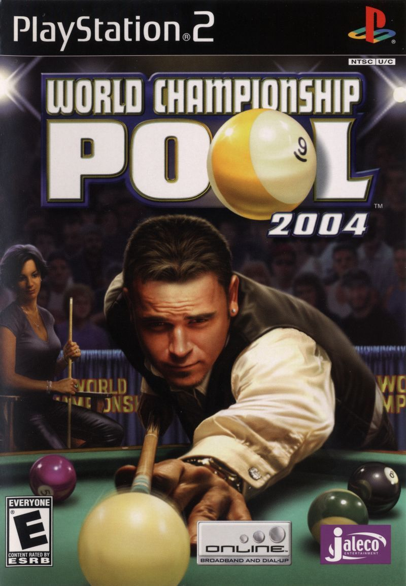 Today In Gaming History Polish Your Virtual Balls And Chalk Up Your Cue Jaleco S Pool Sim Brings Its Online Wares To Ps2 Ps2 Games World Championship Games