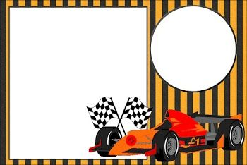 f1 party free printable invitations