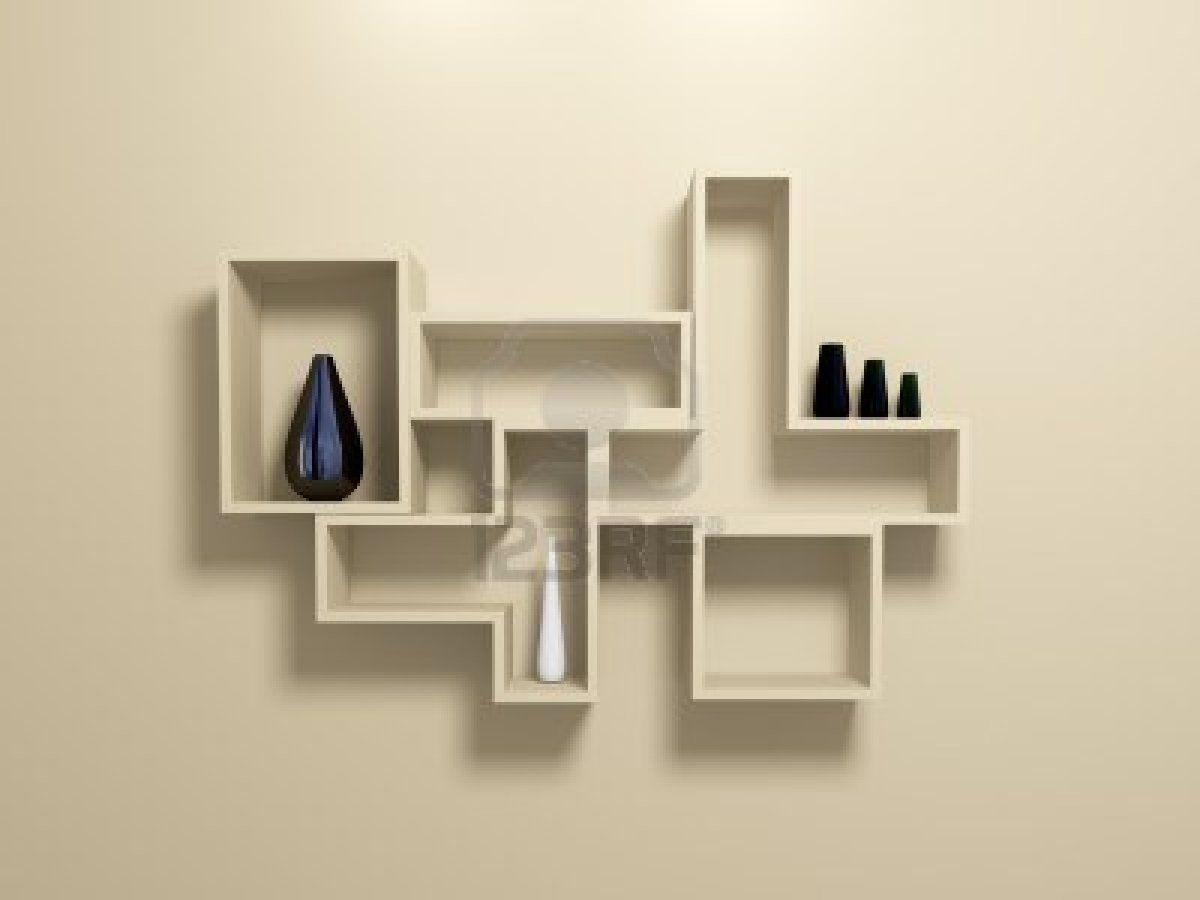 Chic Contemporary Wall Shelving