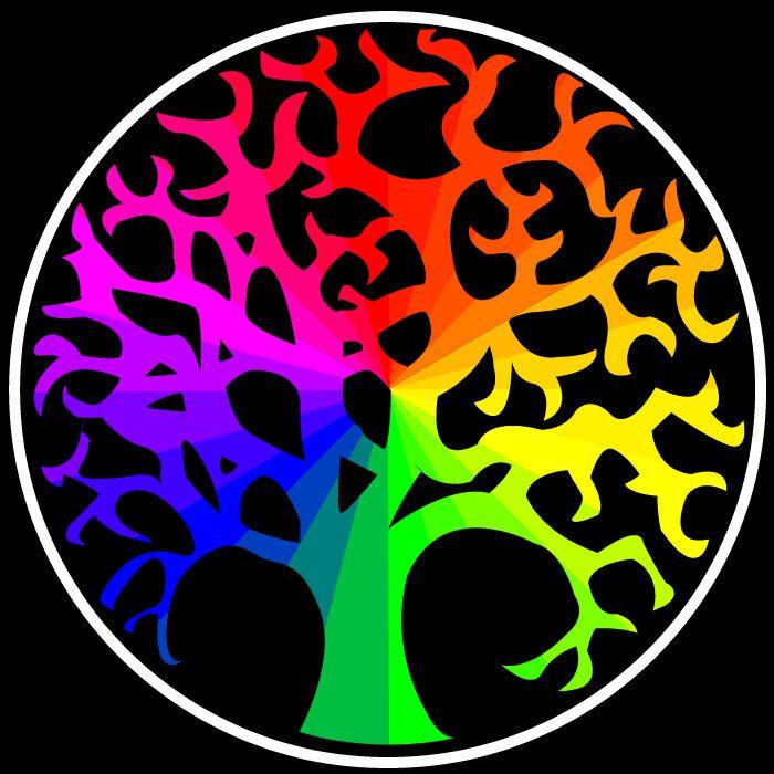 Color Wheel Tree By Everybodyluvsanton On DeviantART