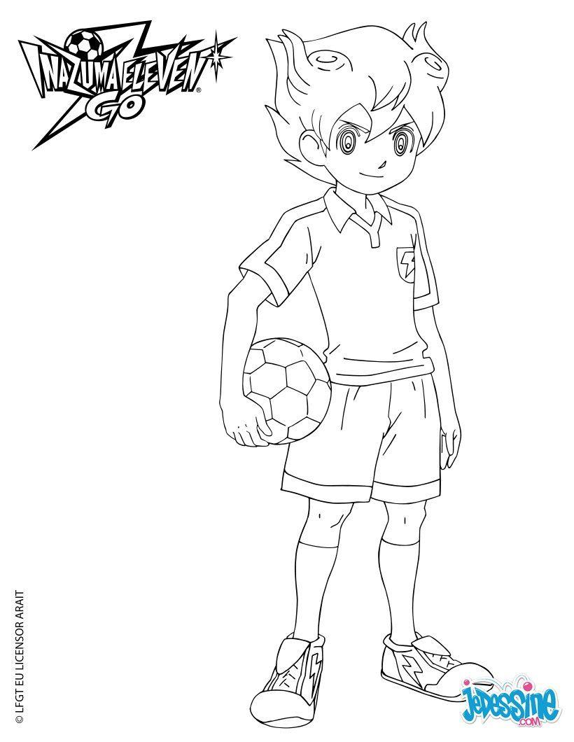Inazuma Eleven Go Arion Capitaine D Equipe Goku Desenho