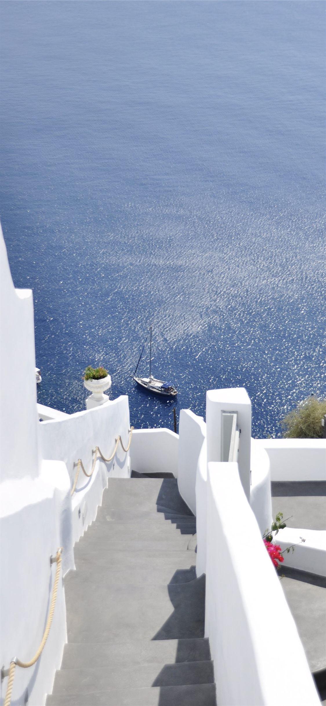 Santorini Santorini 100mostbeautifulplacestovisit Greece Iphone11wallpaper Live Wallpaper Iphone Greece Wallpaper Ios 11 Wallpaper Free live wallpapers for iphone 11