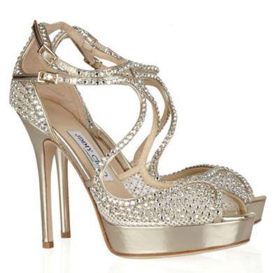 1403950de sandálias para festa com salto prata com pedras | DA COR PRATA ...