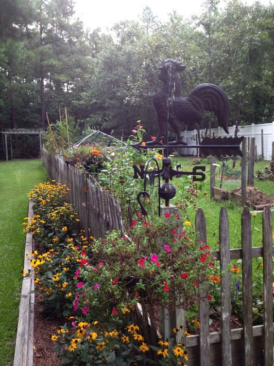 a great way to keep critters out of your garden is to build another garden