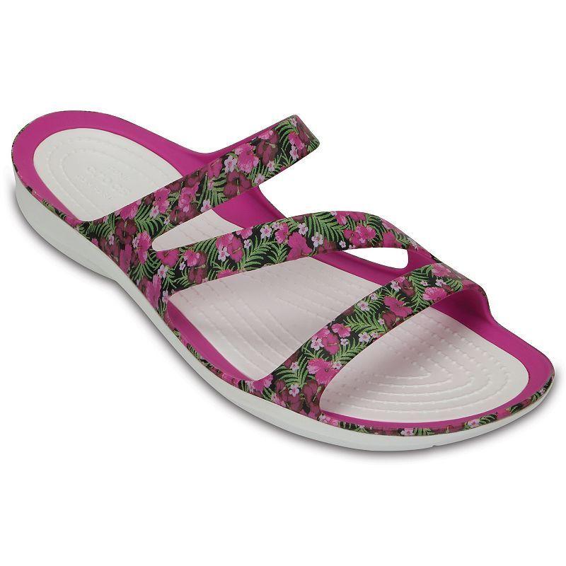 5b6e7beff51a Crocs Swiftwater Women s Graphic Sandals