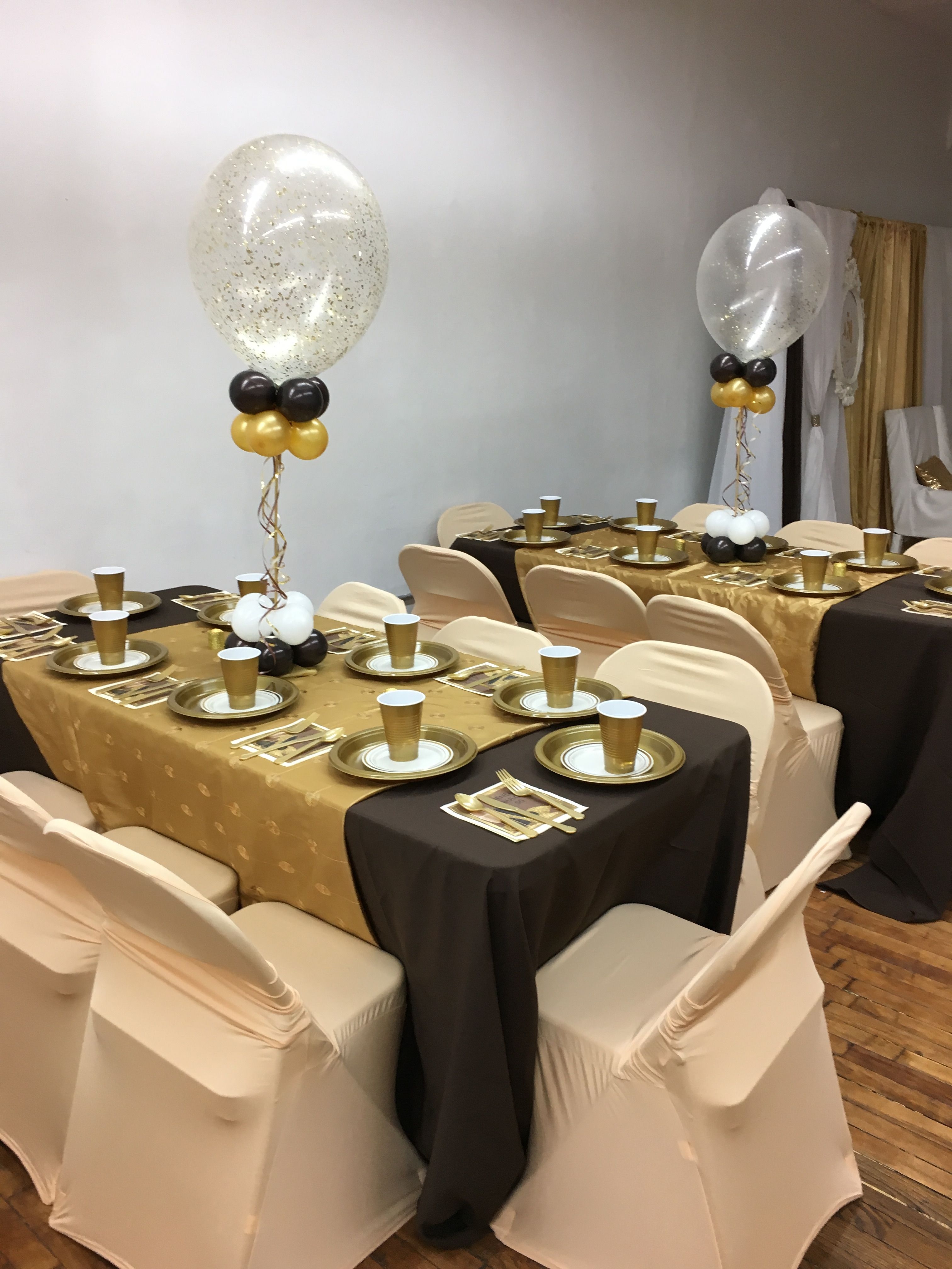 Champagne Chair Covers Brown Tablecloths Gold Overlays And Champagne Chair Covers