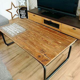 セリア Seria テーブルリメイクのまとめページ Roomclip ルームクリップ テーブル リメイク リビング インテリア カフェ内装
