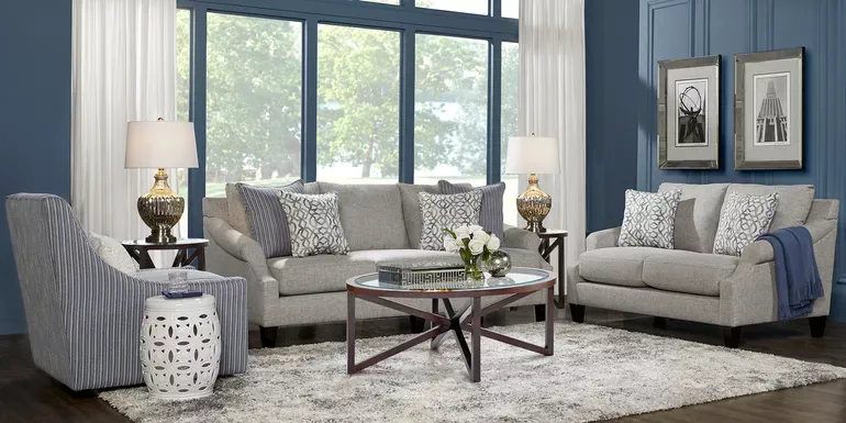 Living Room Sets Rooms To Go Emsworth Navy 7 Pc Living Room 1052908p Living Room Sets Blue Living Room Sets Living Room Suite