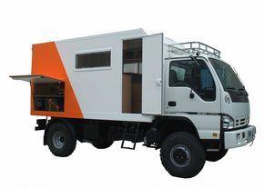 Isuzu NPR based expedition camper  | Expedition truck