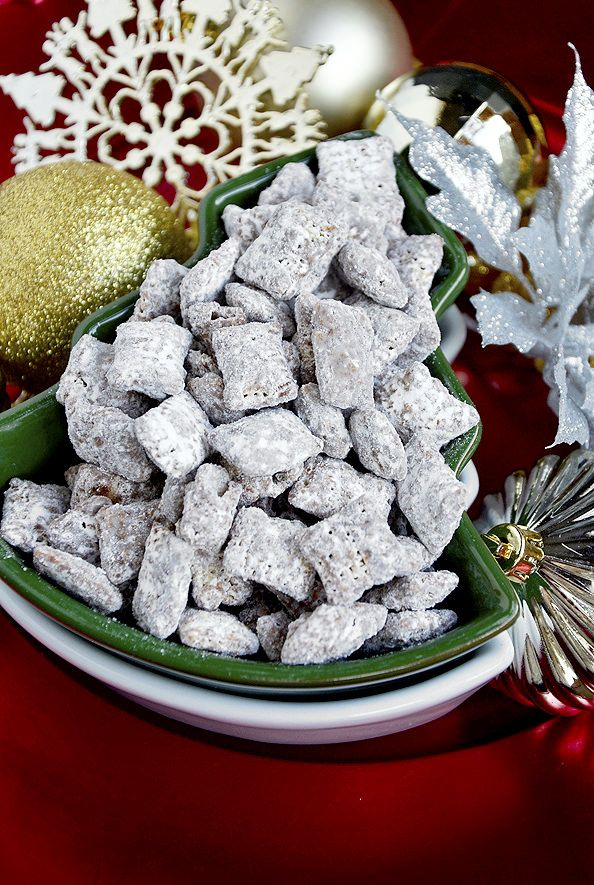 15 minute puppy chow by iowa girl eats - Christmas Puppy Chow
