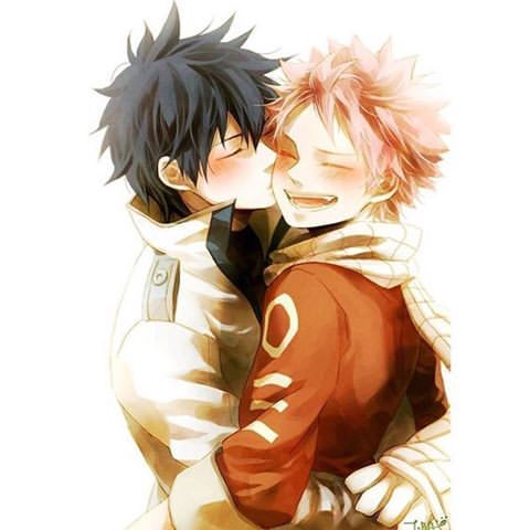 Fairy Tail Natsu And Gray Cute Image result fo...