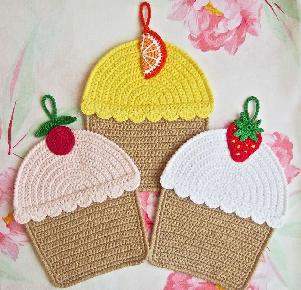 Luty Artes Crochet: coisas de cozinhas | croche | Pinterest | Häkeln