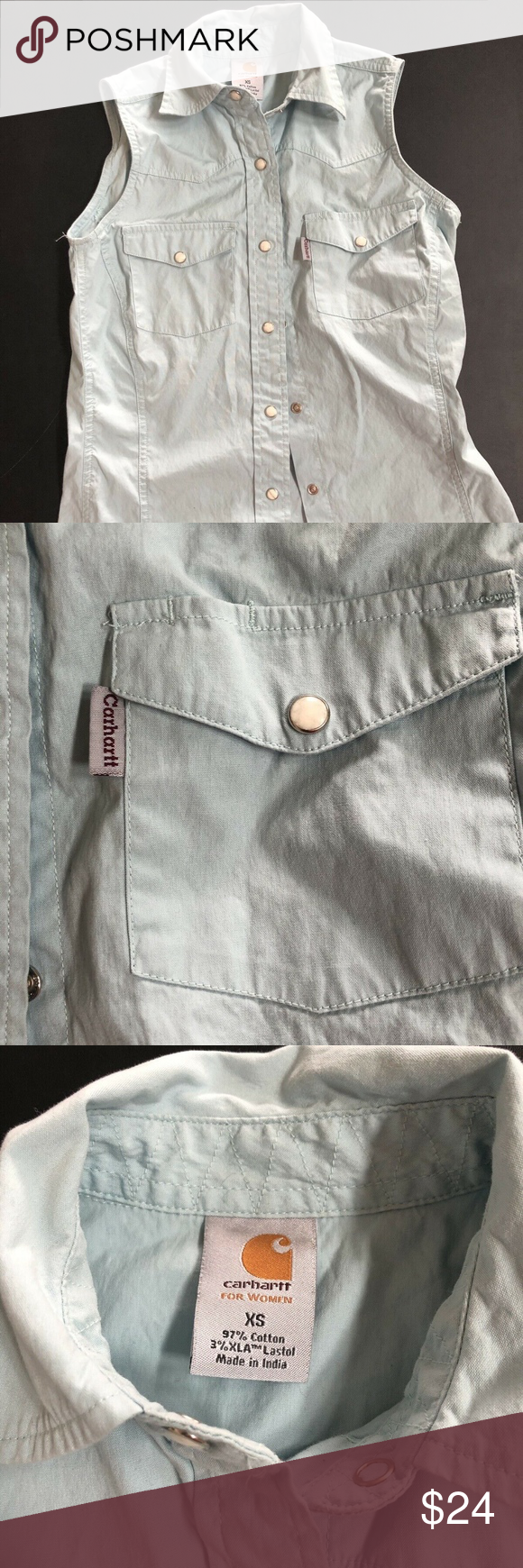 Carhartt Women's Baby Blue Button Down Vest Carhartt Women's Baby Blue Button Down Vest Size XS Sleeve Less Carhartt Tops #carharttwomen Carhartt Women's Baby Blue Button Down Vest Carhartt Women's Baby Blue Button Down Vest Size XS Sleeve Less Carhartt Tops #carharttwomen