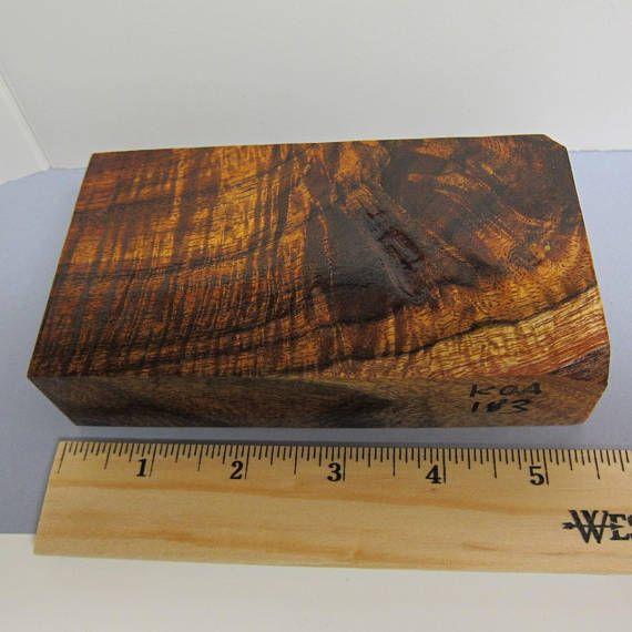 Curly Koa Hawaiian Exotic Wood Supply Lumber Woodworking Craft