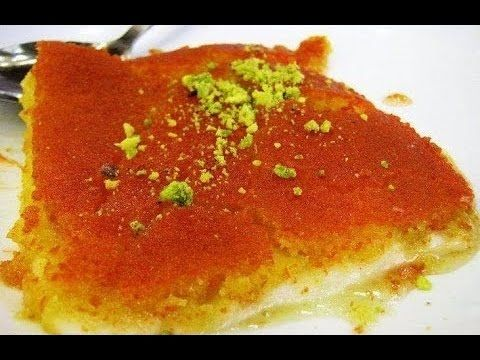 طريقة تحضير الكنافة بالجبن الناعمة وعجينة الفركة X2f وصفات رمضانchef Ahmad X2f Cheese Kanafeh Youtube Food Yummy Food Arabic Food