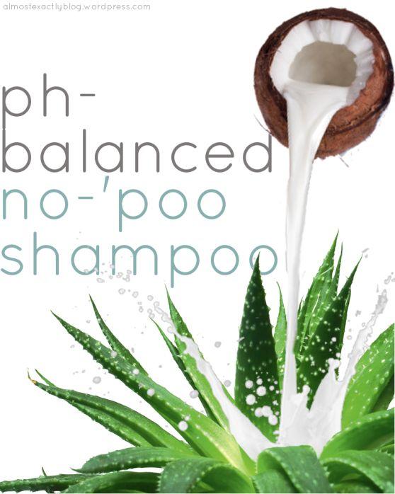 ph-balanced no-poo shampoo